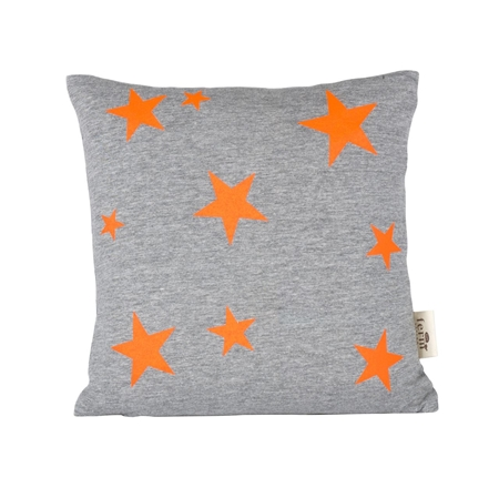 Ferm Living Star Orange Neon Black stripes