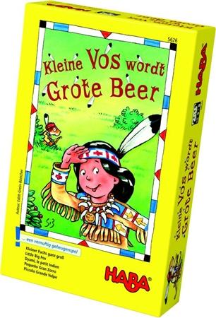 Haba Kleine Vos wordt Grote Beer