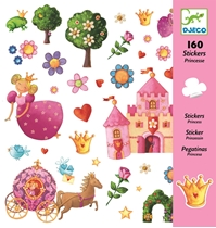 Stickers Prinsessen