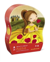 Mini puzzel Beauty and the Beast 24st