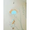 Mobiel vogel en wolkRoze