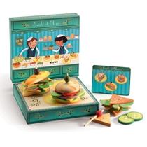 Houten sandwichbar