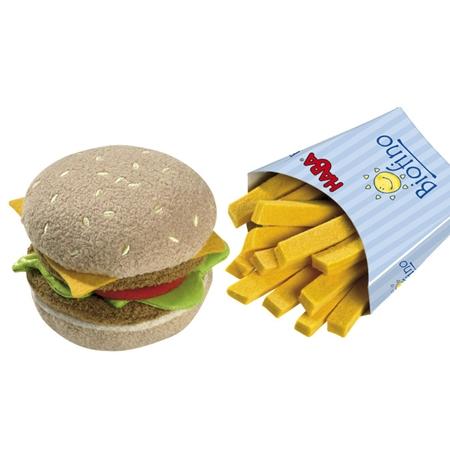 Haba Biofino Hamburger en frietjes