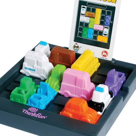 Thinkfun Rushhour Junior + GRATIS 40 extra opdrachtkaarten