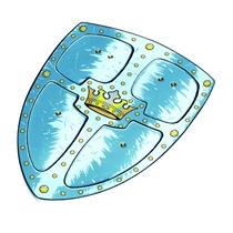 Schild Koningskroon