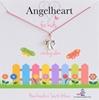 Angelheart Engeltje aan roze zijden koordje