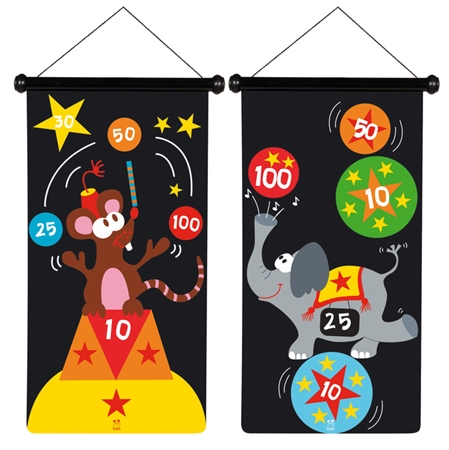 Scratch Magnetische Darts Circus