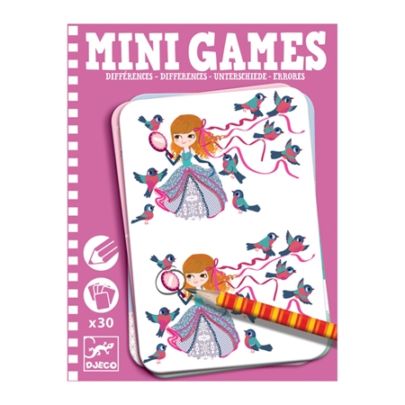 Djeco Mini Games Zeven verschillen