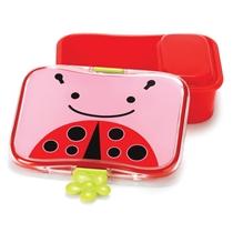 Lunchbox met snackdoosje Lieveheersbeestje