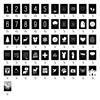 Dots Lifestyle Set ' Happy moments' kaartjes voor tekstbord