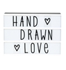 A Little Lovely Company Lightbox Hand drawn letter set