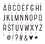 Lightbox Basic Letter set