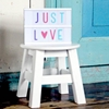 A Little Lovely Company Lightbox Letter set Pastel