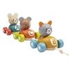Plan Toys Dieren treintje