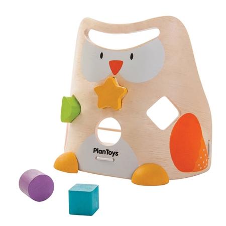 Plan Toys Uil vormen sorteerder