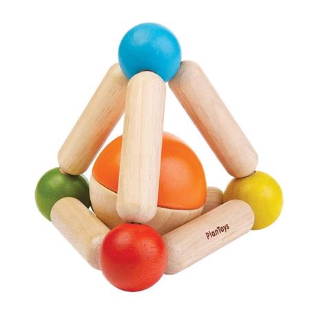 Plan Toys Rammelaar Driehoek