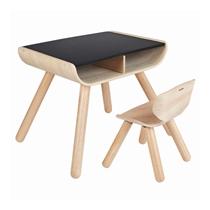 Tafel en stoel Krijtbord