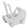 Kids Concept Poppenwagen Ster Wit