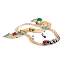 Treinset Treinbaan en Autoweg