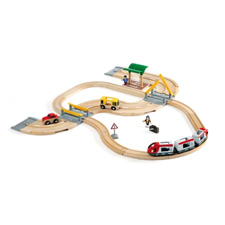 Brio Treinset Treinbaan en Autoweg