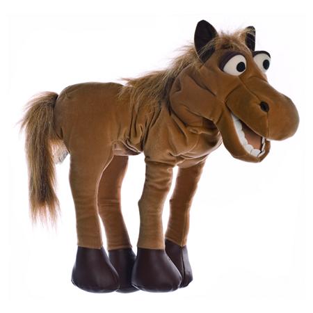 Living Puppets Handpop Paard Helge