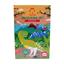 Kleurset met stiften Dino