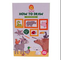 Tekenset Hoe teken ik Wilde Dieren