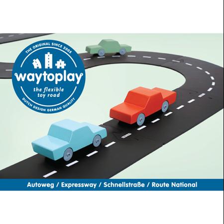 Waytoplay Autobaan Autoweg 16-delig