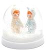 Lapin et Me Snow Globe Woodland Dolls