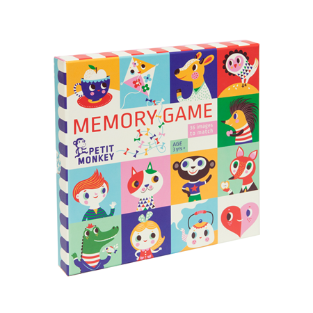 Petit Monkey Memory Game 72st