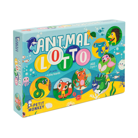 Petit Monkey Animal Lotto