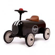 Loopauto Racer Zwart