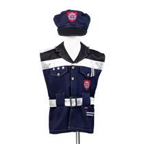 Politie Verkleedpak Maat 4-6j