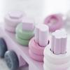 Kids Concept Vrachtwagen met vormpjes Roze