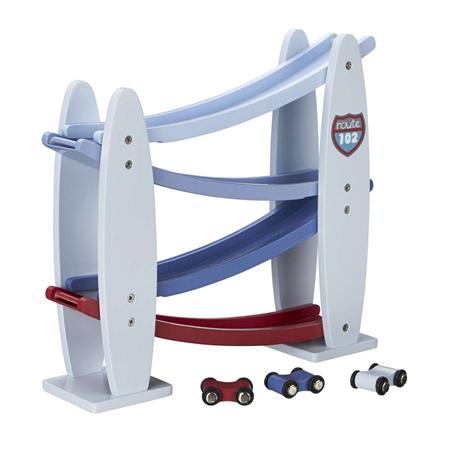 Kids Concept Knikkerbaan met auto's