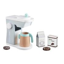 Houten koffiezet
