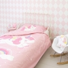 A Little Lovely Company Dekbedset Unicorn 140x200cm