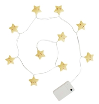 String lights Ster geel
