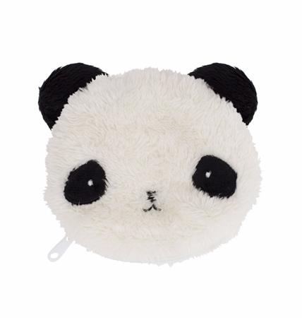 A Little Lovely Company Portemonnee Fluffy Panda