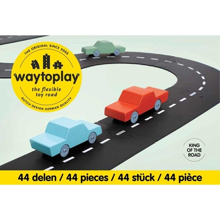 Waytoplay Autobaan King of the road 40-delig