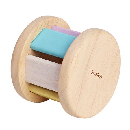 Plan Toys Rammelaar Roller Pastel
