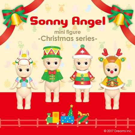 Sonny Angel Gelukspoppetje Kerst 2017