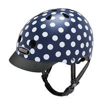 Streethelm S Navy dots