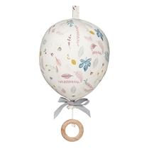 Muziekmobiel Luchtballon Leaves Rose
