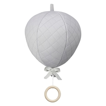 Muziekmobiel Luchtballon Grey