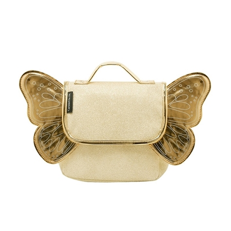 Caramel & Cie Kleutertas Vlinder Glitter Goud