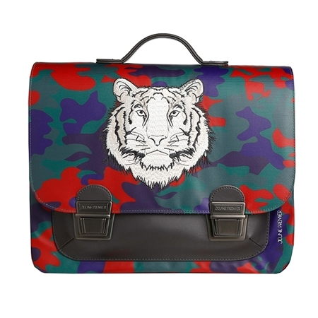 Jeune Premier Boekentas it Bag Midi Bengal Tiger