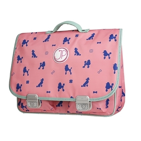 JP – inspired by Jeune Premier Schoolbag Paris Large Poodle