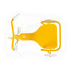 Foxrider Driewieler Geel (gepersonaliseerd)
