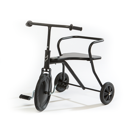 Foxrider Driewieler Zwart (gepersonaliseerd)